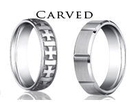 shop by carved mens rings