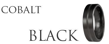 Shop for Black Cobalt Rings