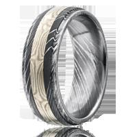 Damascus Steel Rings